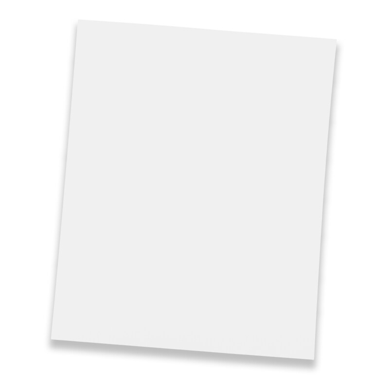 5ea 11 x 14 white poster board by paper mart