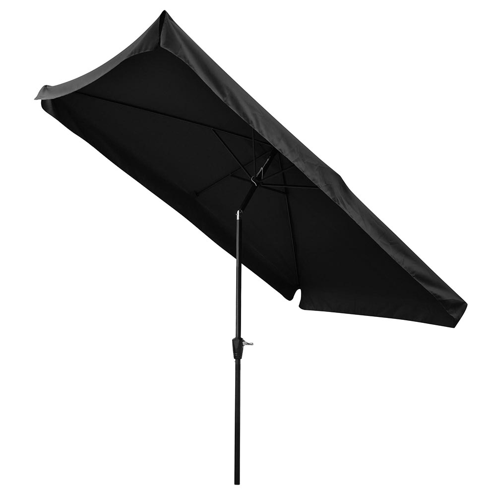 yescom 6 ribs metal patio umbrella black white fuchsia dark brown bright green dark grey wine