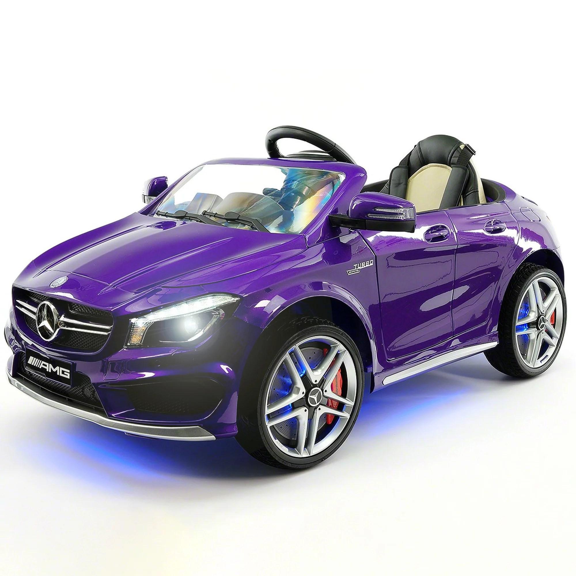 Mercedes Benz Cla 12v Ride On Car For Kids W Remote
