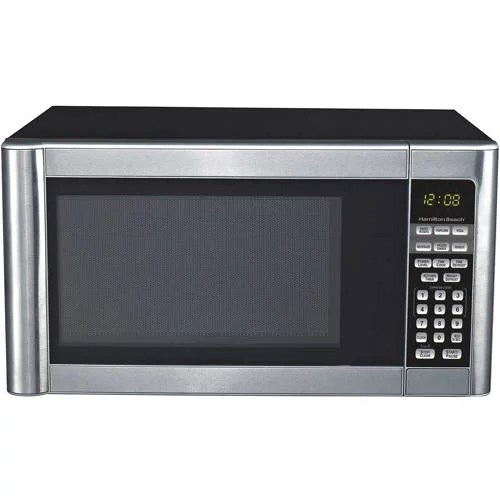hamilton beach 1 1 cu ft stainless steel microwave oven