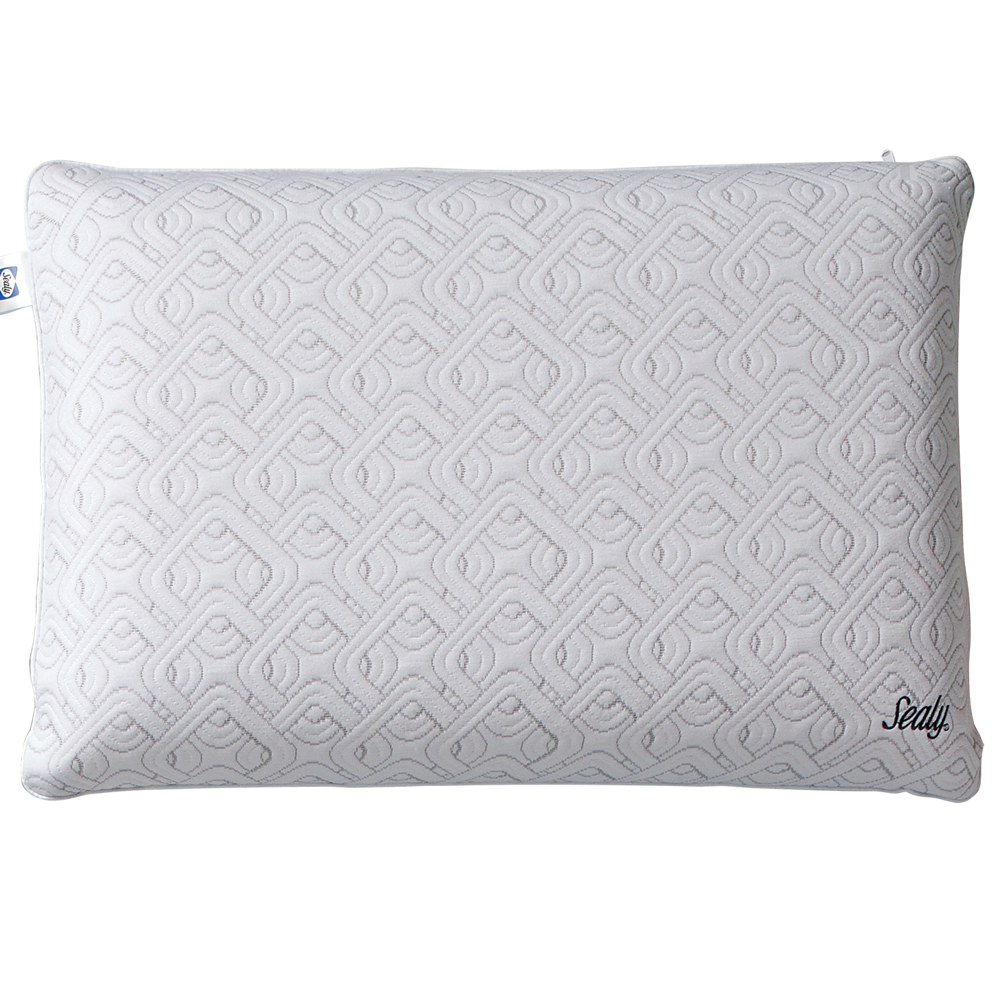 purelux simply cool gel memory foam pillow queen all positions gray