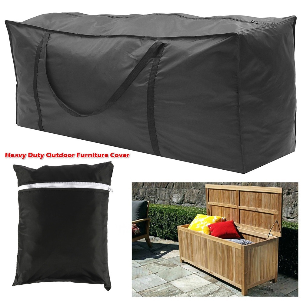 s m l outdoor cushion storage bag heavy duty waterproof furniture cover patio furniture dustproof christmas tree storage bag
