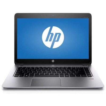 "HP Silver 14"" EliteBook Folio 1040 P0B86UT Laptop PC with Intel Core i5-5200U Processor, 4GB Memory, 128GB Solid State and Windows 7 Professional"