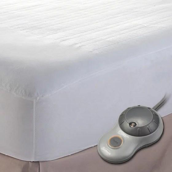Sunbeam Twin Heated Mattress Pad Msu1gts N000 11a00