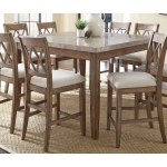 Greyson Living Fulham Marble Top Counter Height Dining Table By Walmart Com Walmart Com