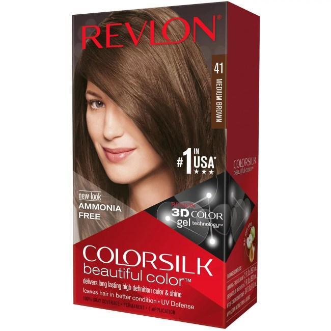 Revlon Medium Brown Hair Color