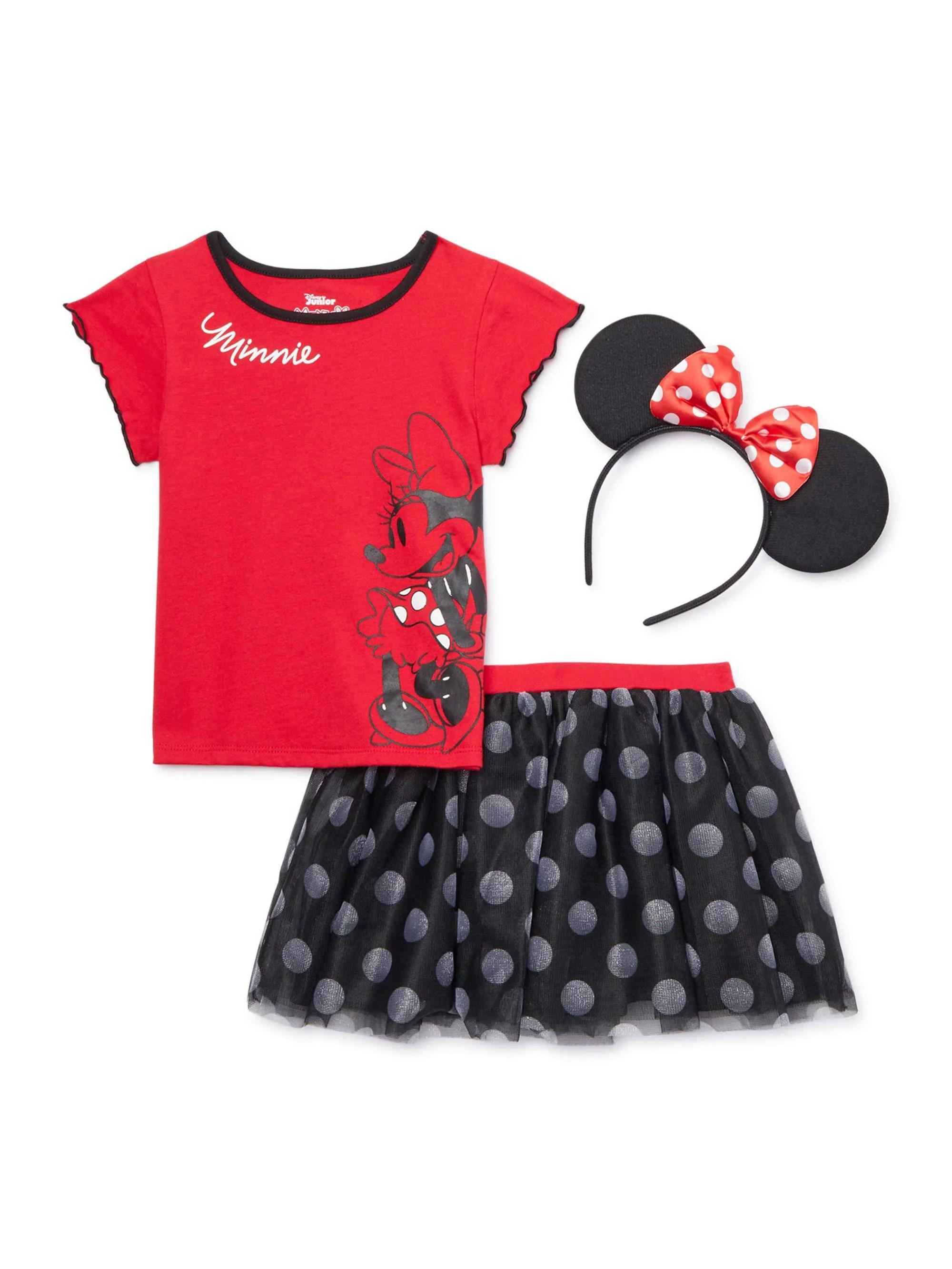 Minnie Mouse Girls Outfit Sets Walmart Com