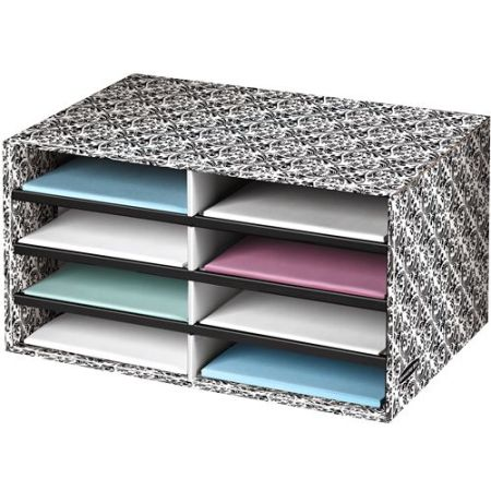 N789 Fancy Decorative Bankers Box File Storage