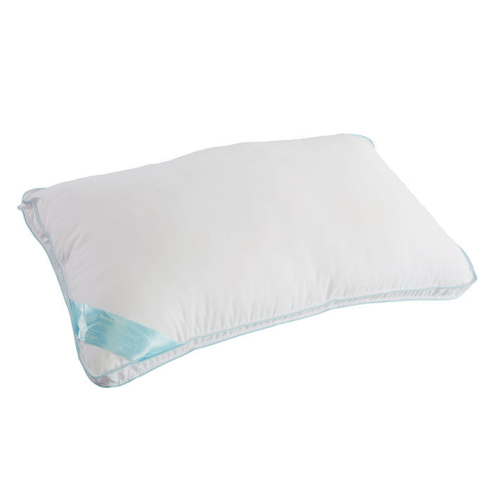 brookstone biosense select sleep pillow with extra soft support