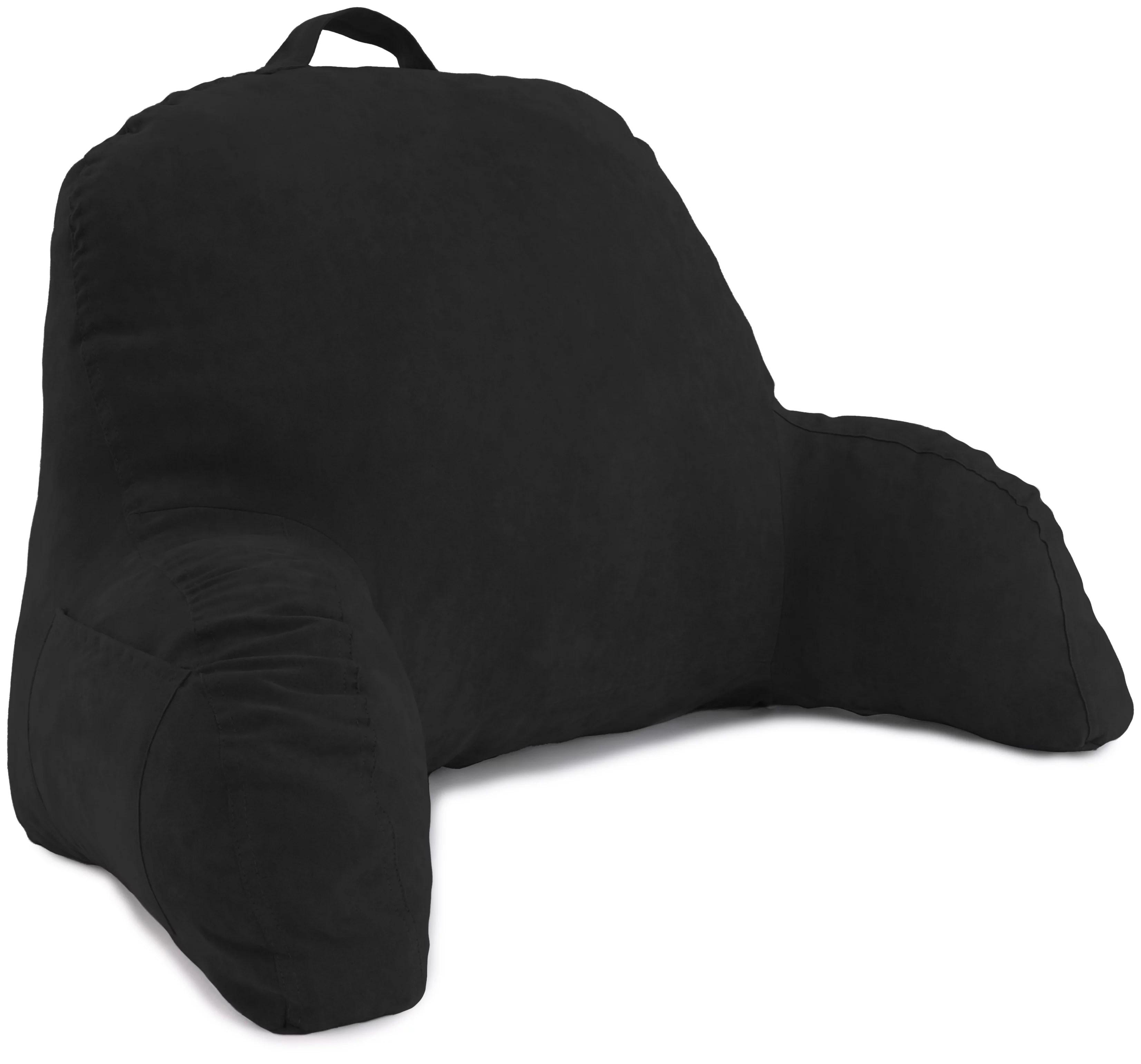 backrest pillows black walmart com