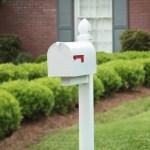 Gibraltar Mailboxes Elite Large Steel Post Mount Mailbox Green E1600g00 Walmart Com Walmart Com