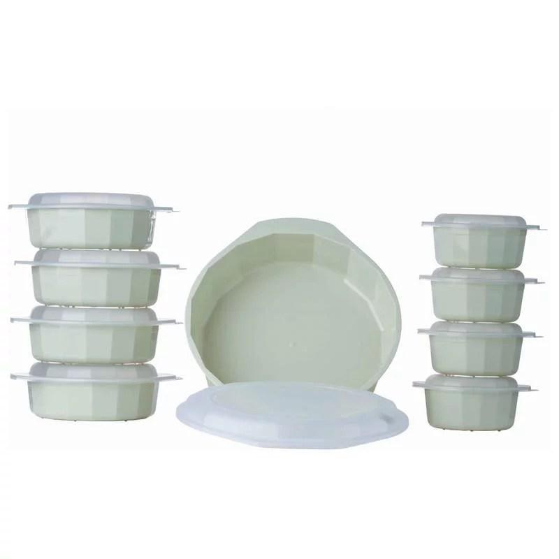 lacuisine 18 piece microwave cookware set walmart com