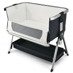 Gymax Baby Bed Side Crib Portable Adjustable Sleeper Bedside Bassinet Walmart Com Walmart Com