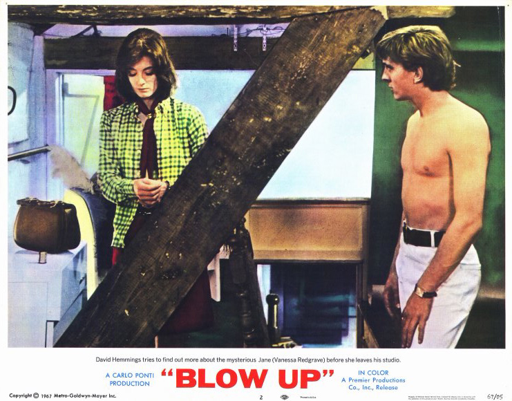 blow up movie poster style a 11 x 14 1966