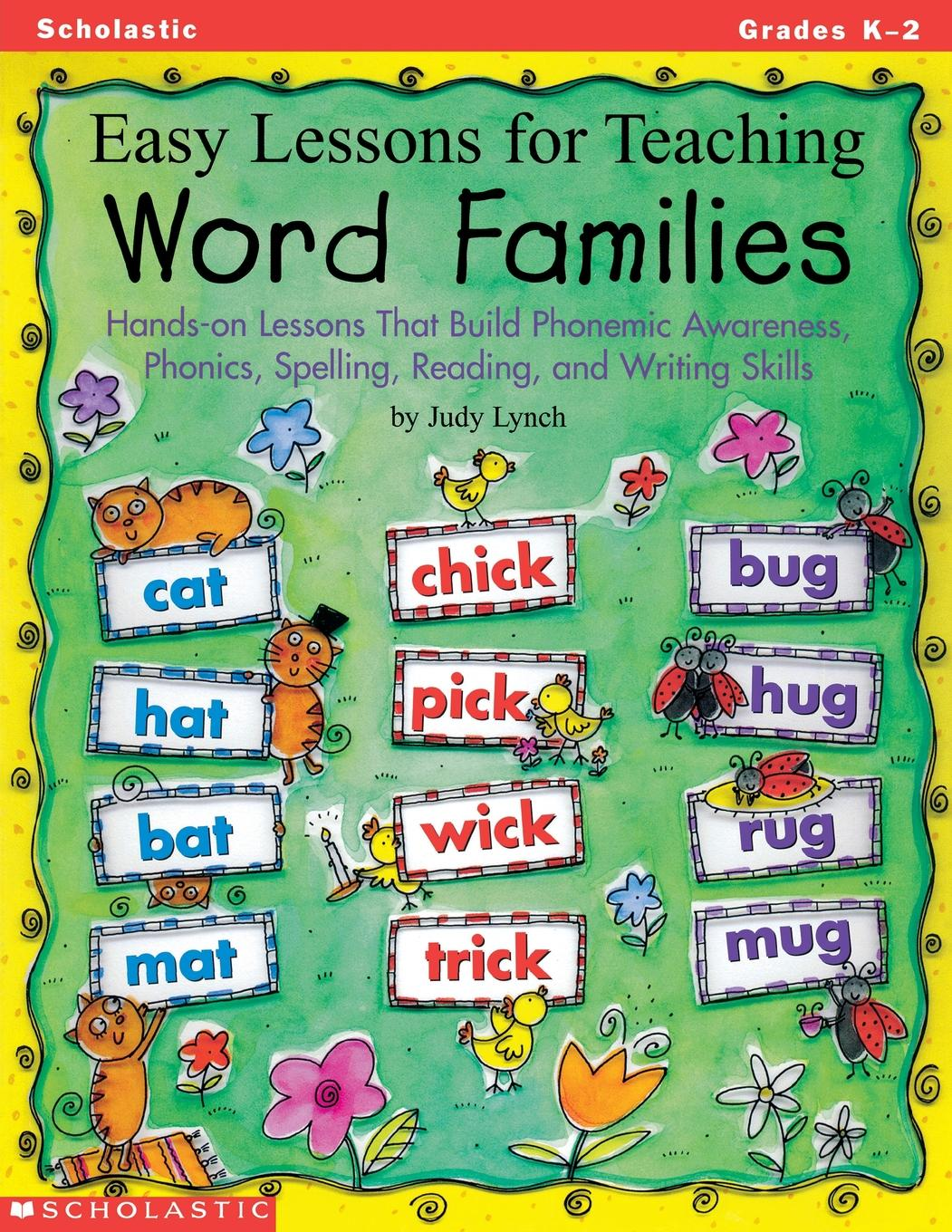 Easy Lessons For Teaching Word Families Hands On Lessons