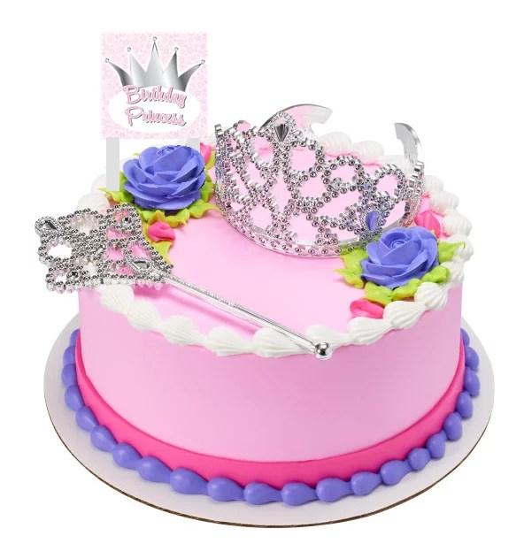Birthday Princess Crown And Tiara With Plaque Cake Decoration Topper Walmart Com Walmart Com