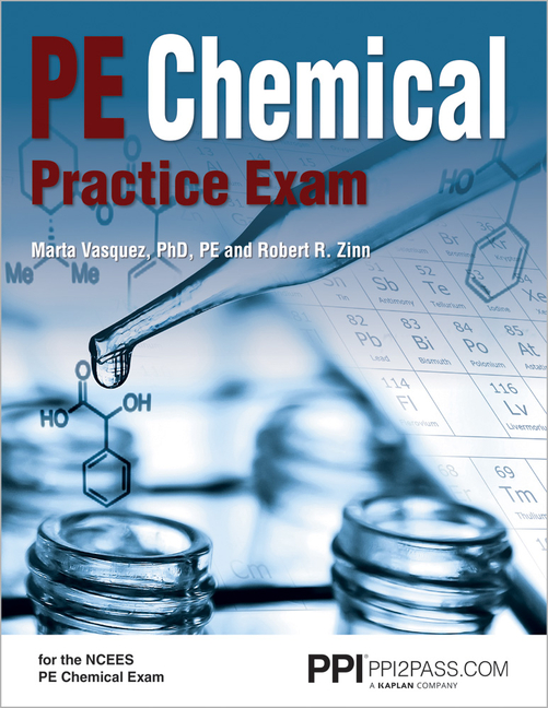 Ppi Pe Chemical Practice Exam 1st Edition Paperback A