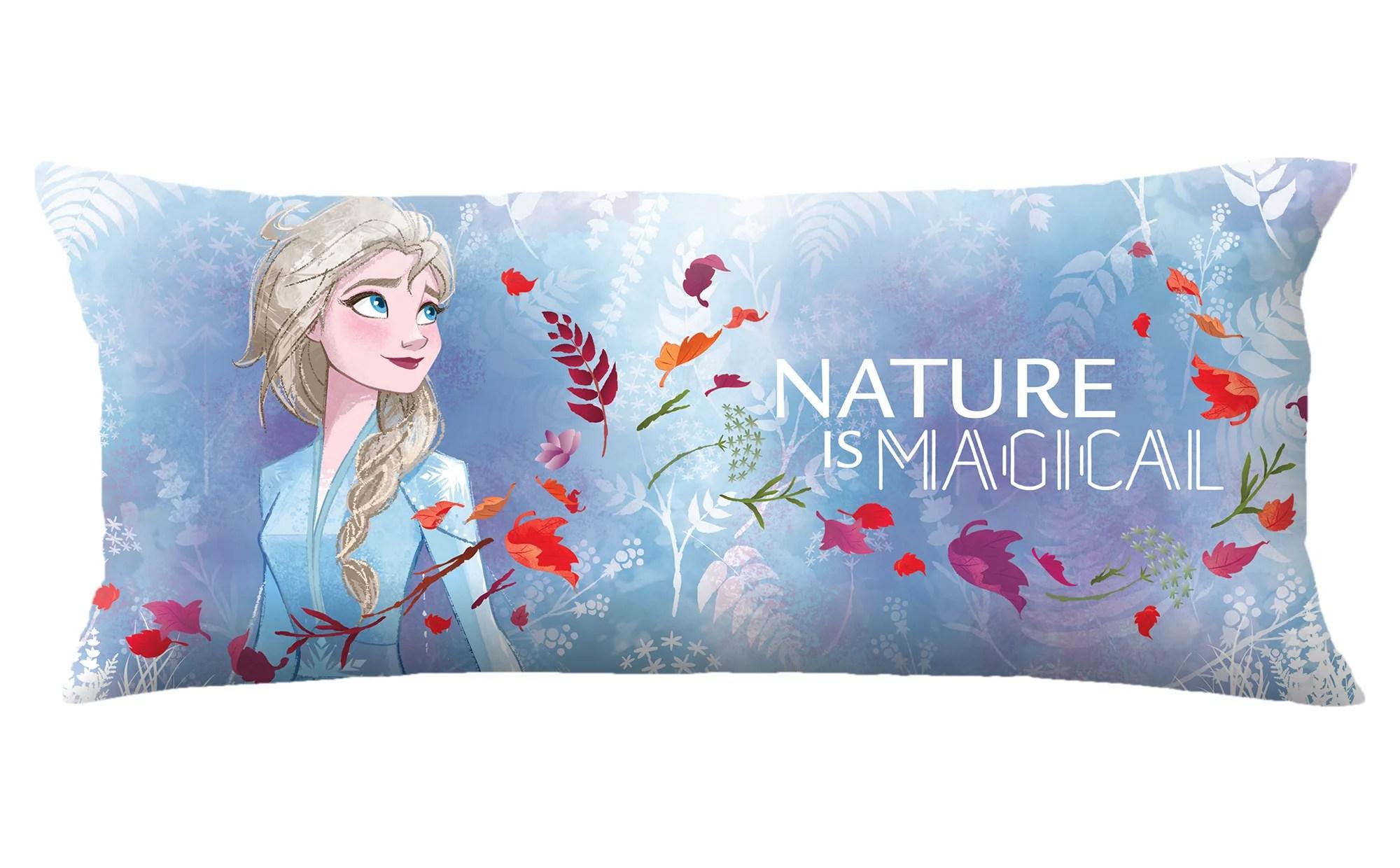 frozen 2 extra large body pillow reversible design 4 feet long