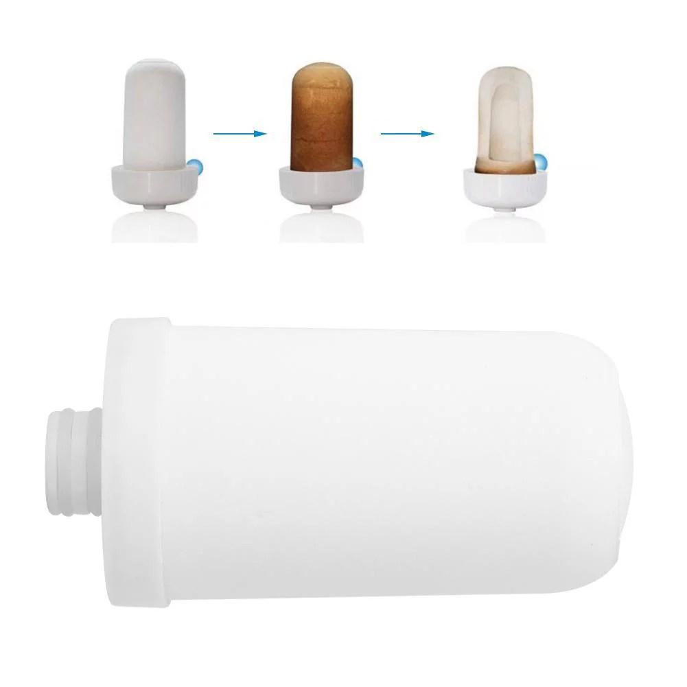 ccdes ceramic filter replacement water filter cartridge 2pcs faucet water purifier ceramic filter core cartridge replacement water system filter