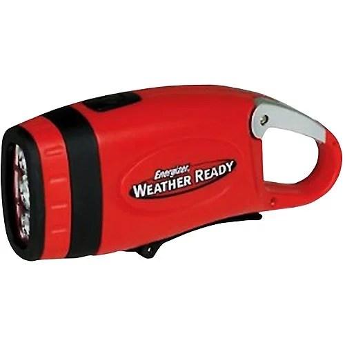 Energizer Weather Ready Carabiner Crank LED Flashlight