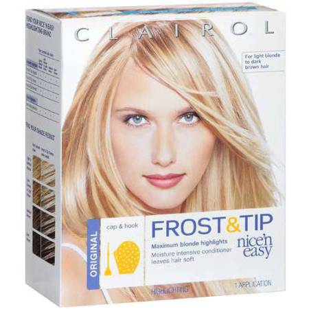 clairol nice n easy frost tip hair highlights creme kit walmart
