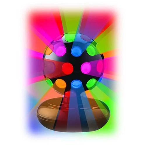 Creative Motion 6 Rotating Disco Ball Light With Multi