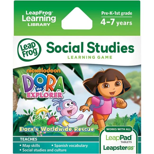 LeapFrog Explorer & LeapPad Learning Game: Dora the Explorer