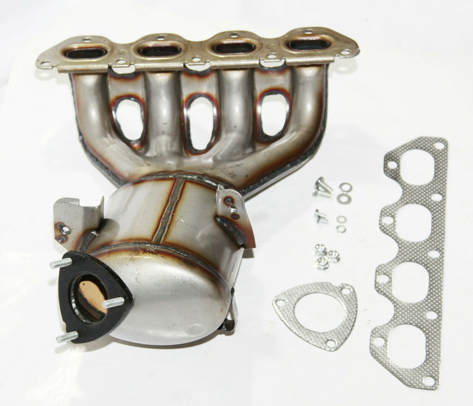 exhaust manifold catalytic converter fit 11 16 chevy cruze sonic trax 674 841 exhaust manifold catalytic converter fit 11 16 chevy cruze sonic trax