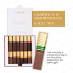 Merci Finest Assortment Of Eight European Chocolate Gift Box 7 Oz Walmart Com Walmart Com