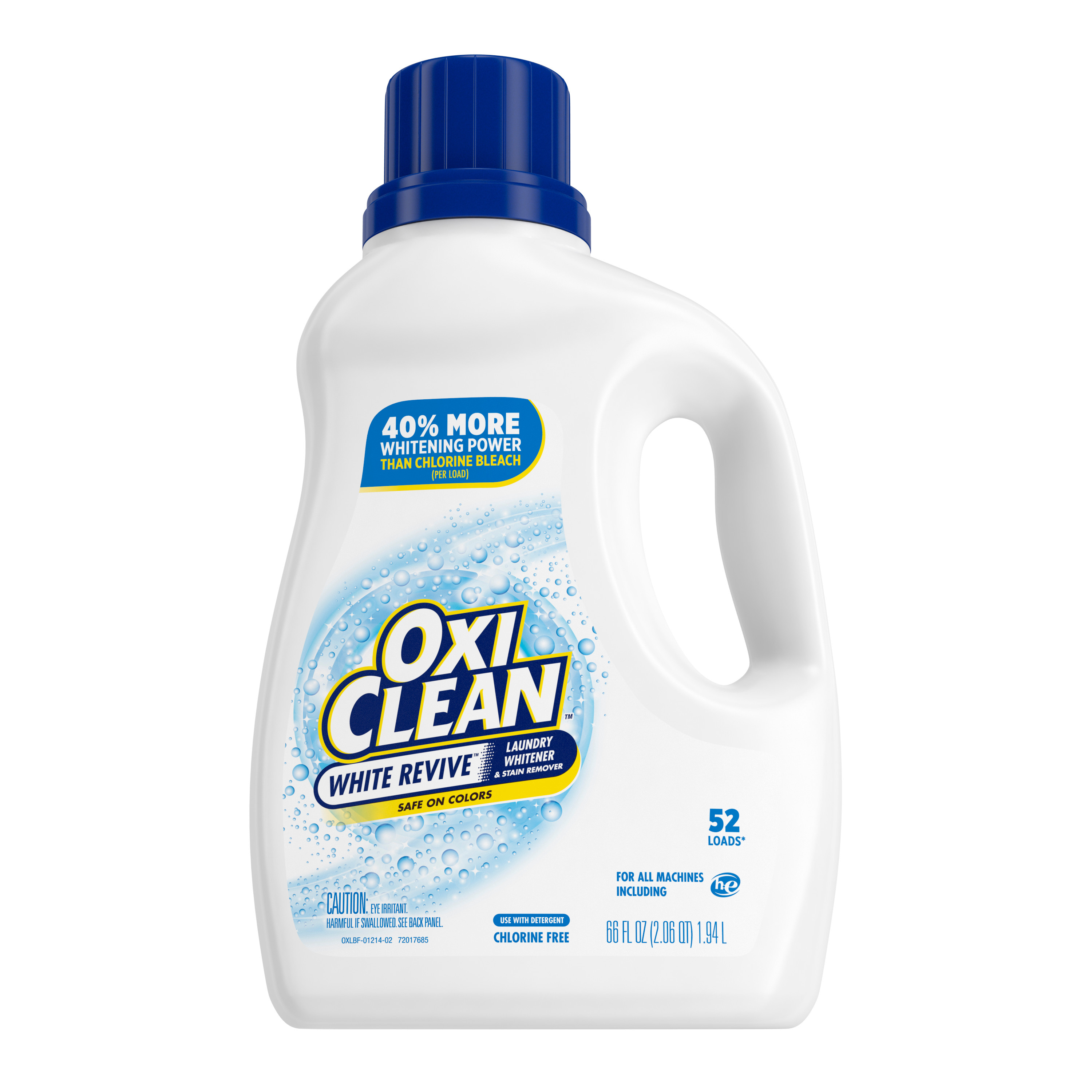 oxiclean white revive liquid laundry whitener stain remover 66oz