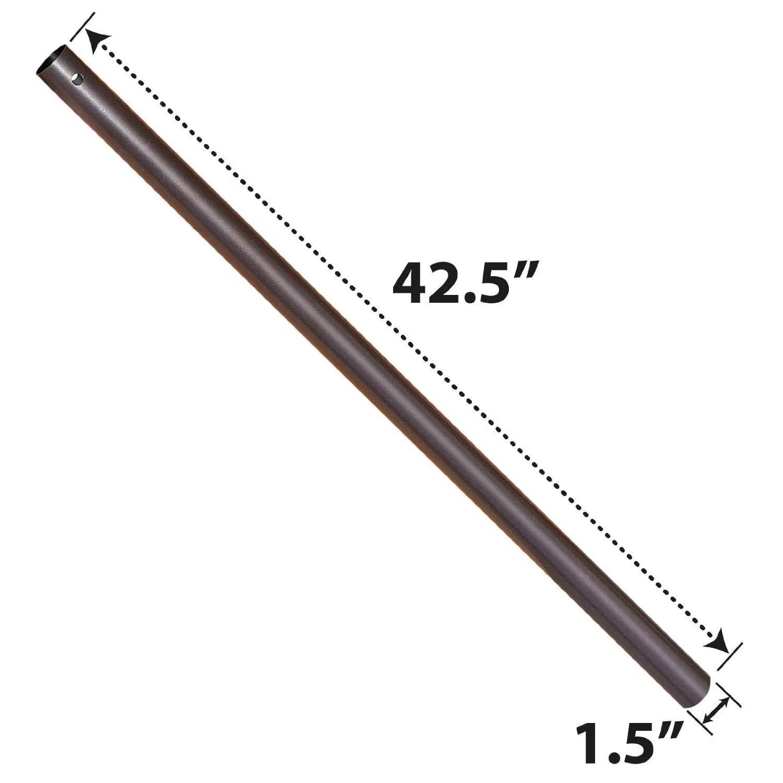 sunny patio umbrella lower pole dia 1 5 length 42 5 walmart com