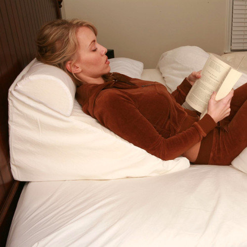 deluxe comfort bed wedge pillow walmart com