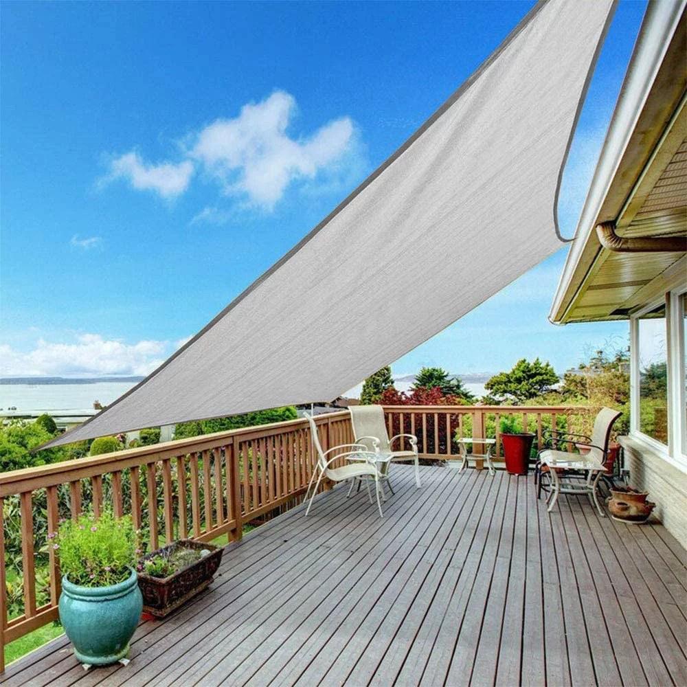 400d sun shade sail outdoor garden waterproof canopy patio cover 99 uv block yard garden shelter for garden patio swimming backyard playground
