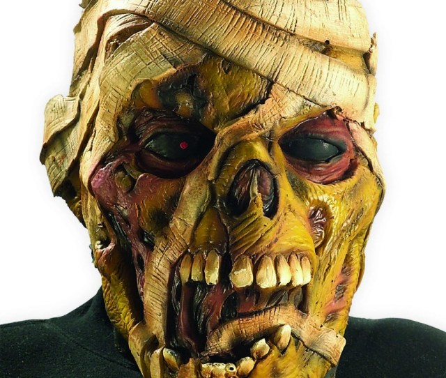 Mummy Vinyl Mask Iron Maiden Eddie Eddy Costume Metal Scary Gift Cosplay Band