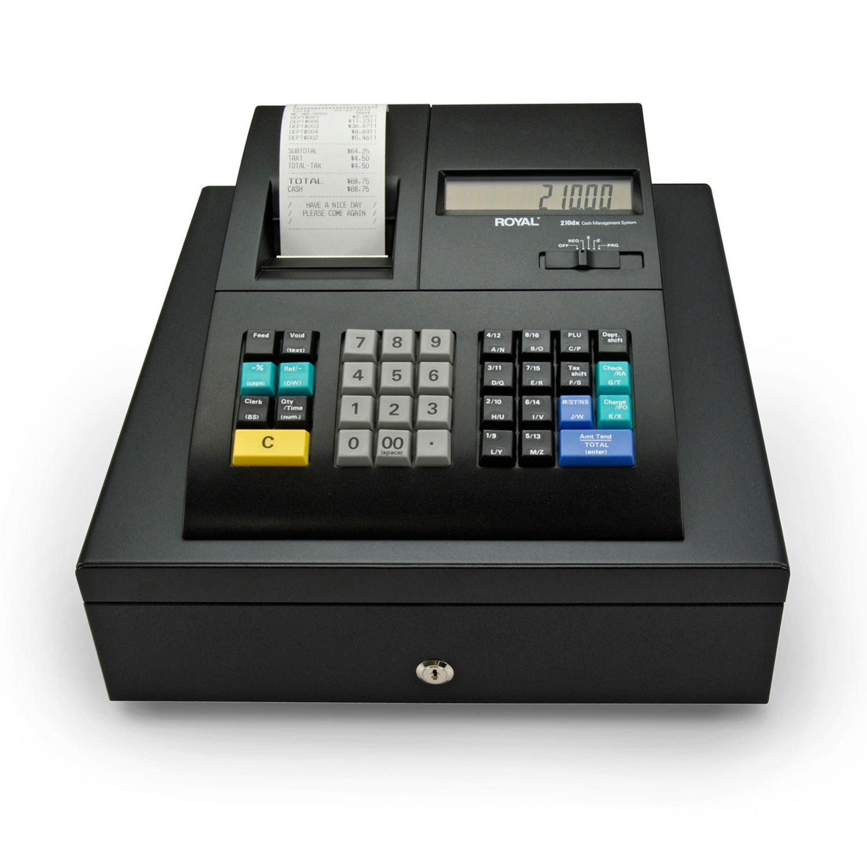 Refurbished Royal 210DX B1 Electronic Cash Register w/Dual ...