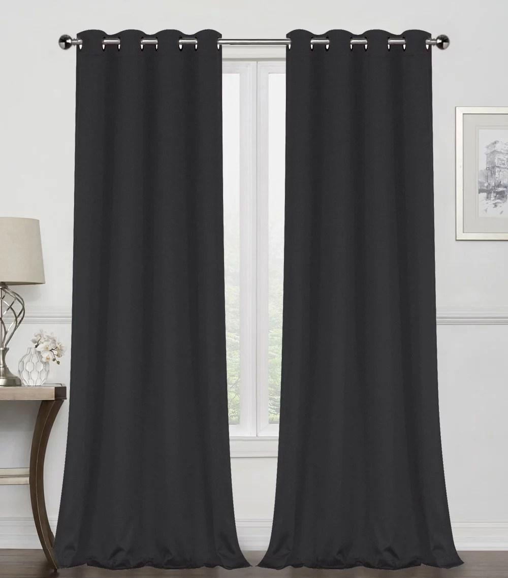 curtains black walmart com
