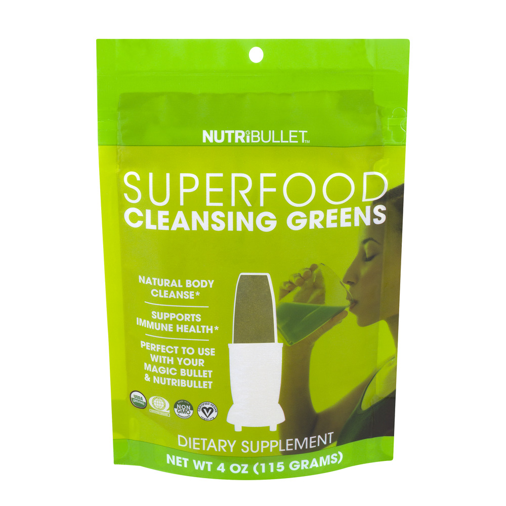 Nutribullet Cleansing Greens Superfood Powder, 4.0 Oz