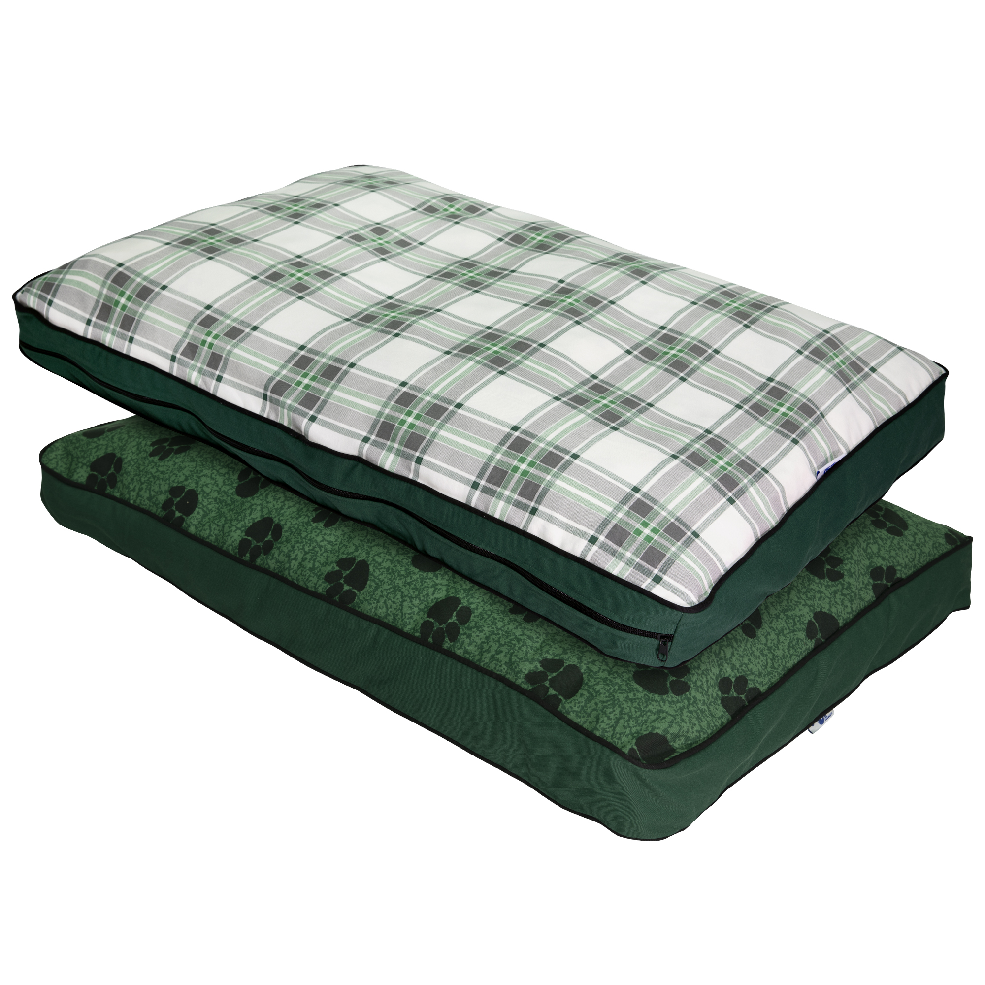 mypillow dog bed large size green 34 x 45