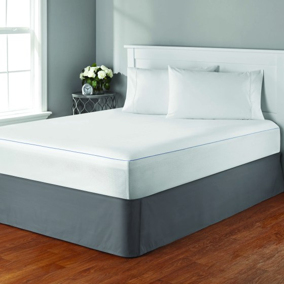 Mainstays Cooling Comfort Luxury Ed Mattress Protector King Size