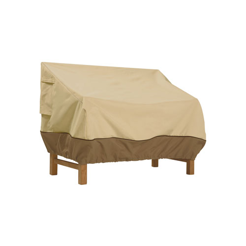 """Classic Accessories Veranda Patio Bench and Loveseat Furniture Storage Cover, fits up to 76""""L x 32.5""""W"""