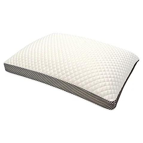 therapedic trucool memory foam side sleeper pillow king