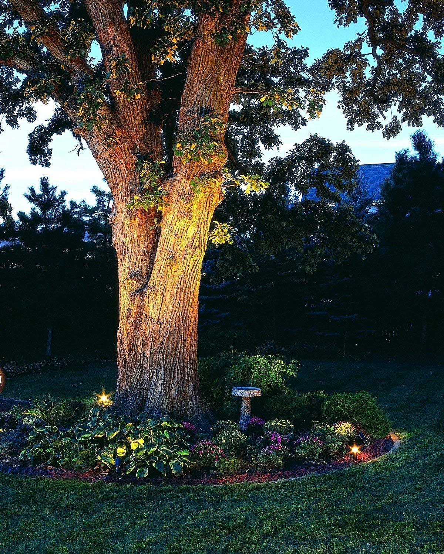 goodsmann 50 watt halogen landscape lights low voltage for garden yard pathway lawn outdoor 9920 9601 01