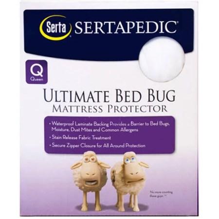 Sertapedic Ultimate Protection Bed Bug Mattress Encat