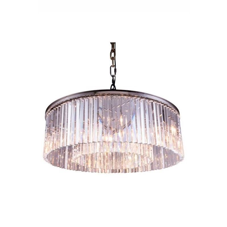 elegant lighting sydney 44 10 light royal crystal chandelier