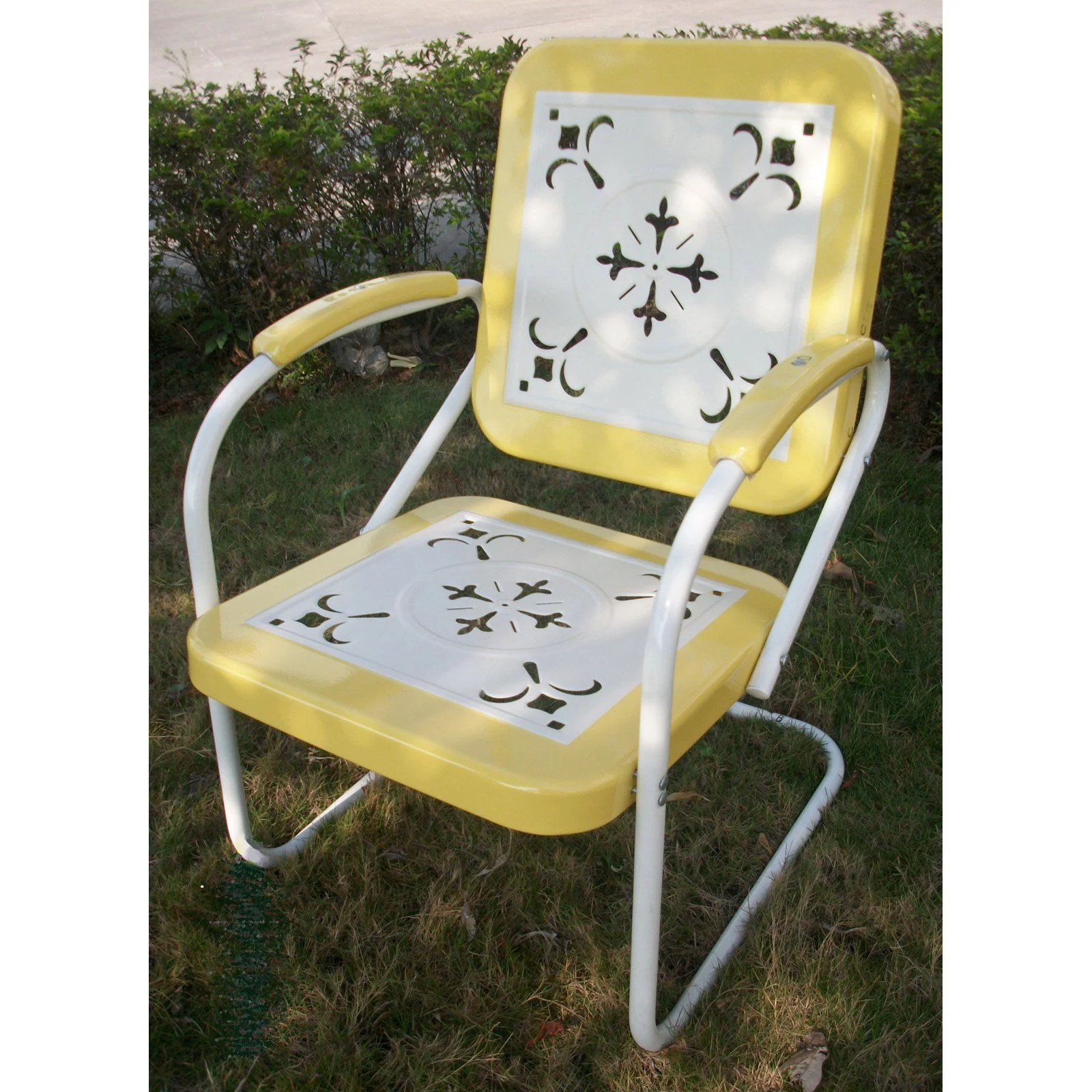 retro outdoor chair multiple colors