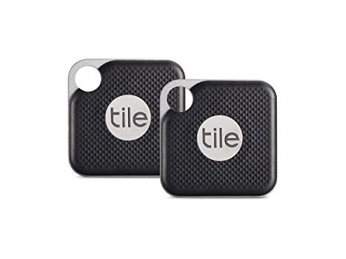 tile pro with replaceable battery 2 pack 1 x black 1 x white new