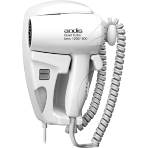 Andis Quiet Hang Up 1600 Wall Mounted Hair Dryer 30975