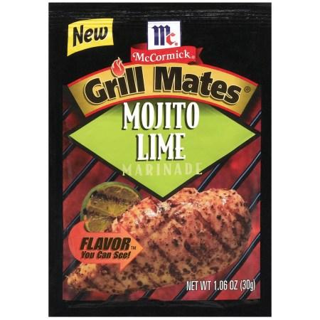 McCormick® Grill Mates® Mojito Lime Marinade, 1.06 oz. Packet