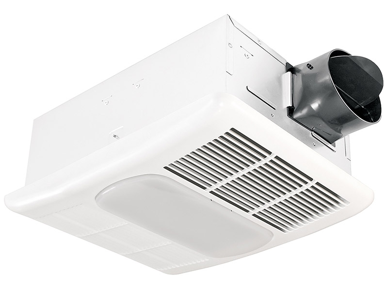 delta breezradiance rad80led 80 cfm exhaust bath fan dimmable led light and heater walmart com