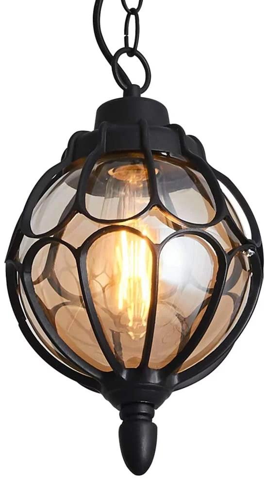 outdoor hanging lantern rustic waterproof pendant lighting fixture in metal with glass globe 7 1 exterior hanging light for porch exterior